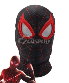 Marvel 2021 Spider-Man: Miles Morales Mask Headgear Cosplay Accessory Prop