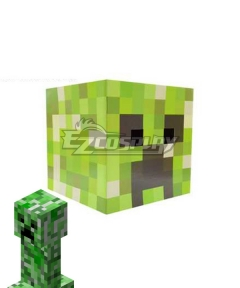 Minecraft Creeper Headgear Cosplay Accessory Prop