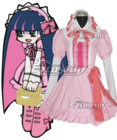 Panty And Stocking with Garterbelt Stocking Date Cosplay Costume