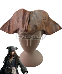 Pirates of the Caribbean Jack Sparrow Captain Hat Halloween Cosplay Accessory Prop