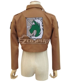 Attack on Titan Shingeki no Kyojin Military Police Regiment Nile Dawk Cosplay Costume - Only Jacket