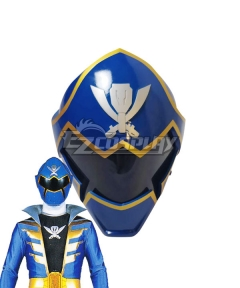 Power Rangers Super Megaforce Super Megaforce Blue Helmet Cosplay Accessory Prop
