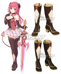 Princess Connect! Re: Dive Io Brown Shoes Cosplay Boots