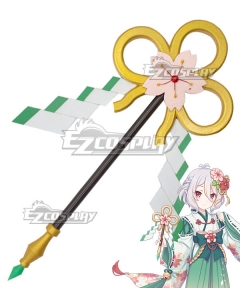 Princess Connect! Re:Dive Kokoro Natsume New Year Kimono Cane Cosplay Weapon Prop
