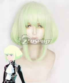 PROMARE LIO FOTIA Yellow Green Cosplay Wig