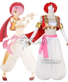 Re: Life In A Different World From Zero Dancer Aladdin Ram Cosplay Costume