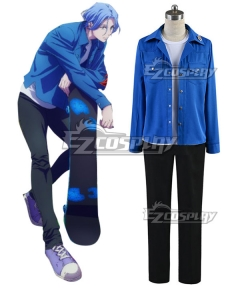 SK8 the Infinity SK∞ Langa Blue Cosplay Costume