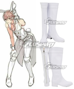 Ten Count 10 Count BL Comic Manga Tadaomi Shirotani White Shoes Cosplay Boots