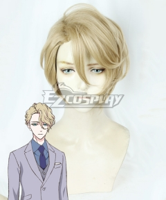 The Case Files of Jeweler Richard Richard Ranashinha Dvorpian Golden Cosplay Wig