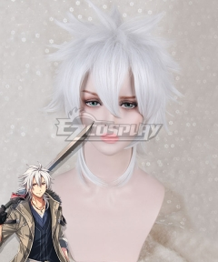 The Legend of Heroes Trails of Cold Steel Crow Armbrust White Cosplay Wig