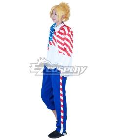 The Prince of Tennis II USA American Kiko Balentien Ryoma Echizen Cosplay Costume