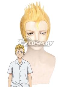 Tokyo Revengers Takemichi Hanagaki Past Golden Cosplay Wig