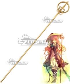 Touhou Project Byakuren Hijiri Stave Cosplay Weapon Prop