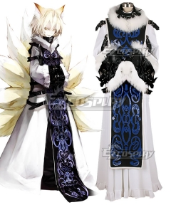 Touhou Project Devil Castle Yakumo Ran Cosplay Costume