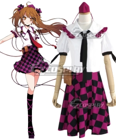 Touhou Project Himekaidou Hatate Cosplay Costume