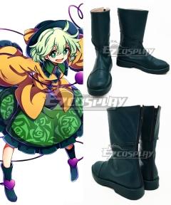 Touhou Project Komeiji Koishi Green Cosplay Shoes