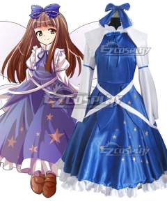 Touhou Project Star Sapphire Cosplay Costume
