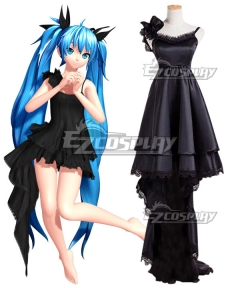 Vocaloid Hatsune Miku Deep-Sea Girl Cosplay Costume