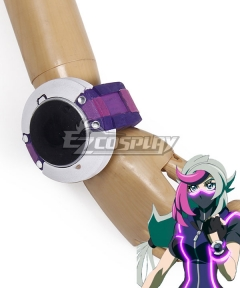 Yu-Gi-Oh! VRAINS Ghost Girl Duel Disk Cosplay Accessory Prop