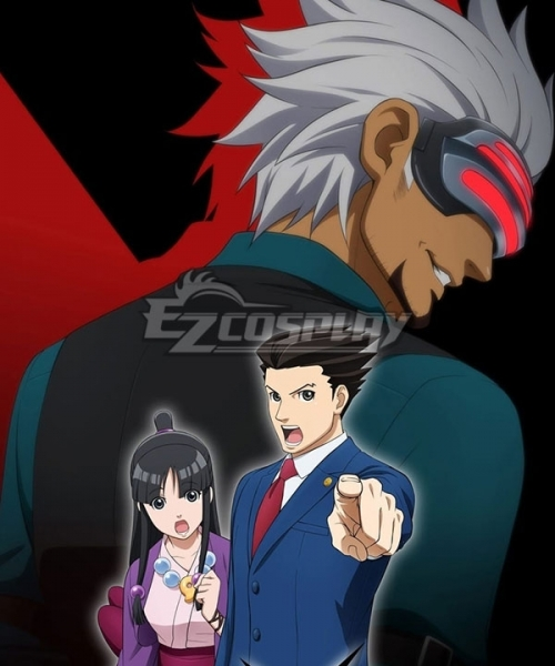 Ace Attorney Season 2 Godot Cosplay Costume Only Vest