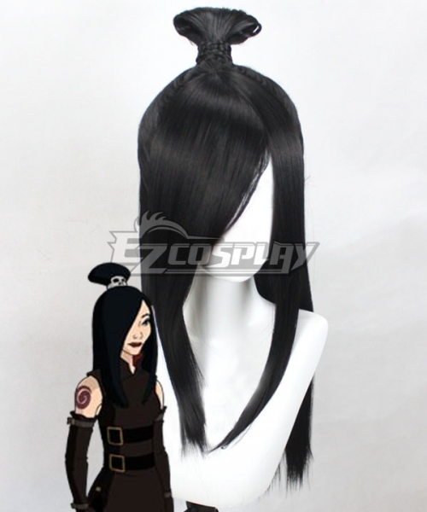 Avatar The Last Airbender Prince Zuko Black Anime Cosplay Wig