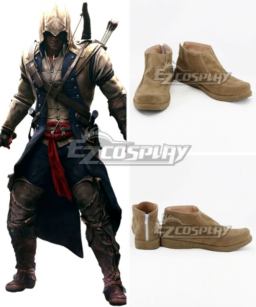 Assassin S Creed Iii Connor Brown Cosplay Shoes
