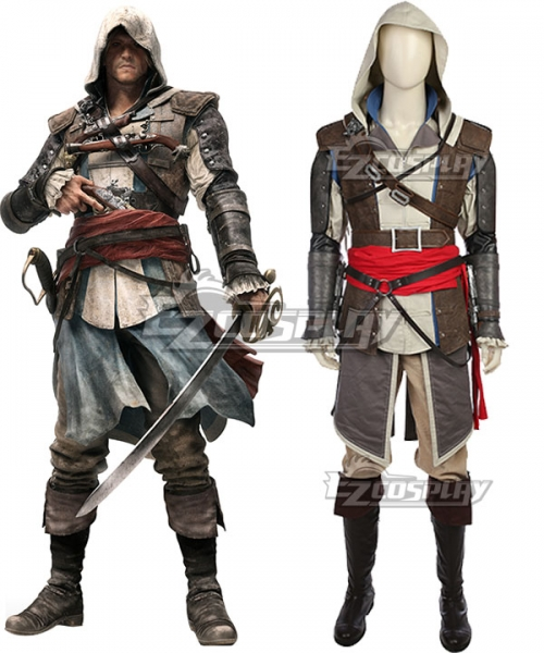 Assassin S Creed Iv Black Flag Edward Kenway Cosplay Costume