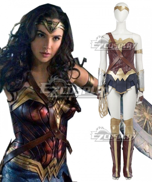 Dc Wonder Woman 2017 Movie Diana Prince Cosplay Costume New Edition