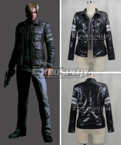 Resident Evil 6 Leon Scott Kennedy Cosplay Costume Only Jacket
