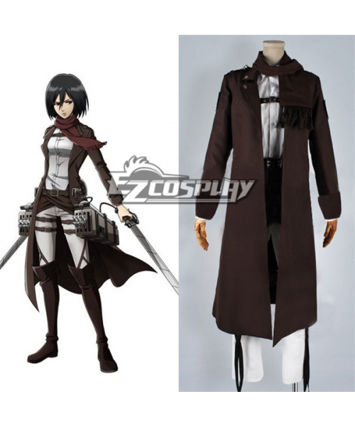 Attack On Titan Shingeki No Kyojin Special Night Fighting Soldiers Maneuver Mikasa Ackerman Cosplay Costume