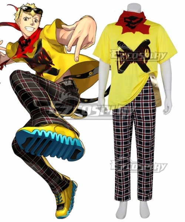 Persona 5 Dancing Star Night Ryuji Sakamoto Cosplay Costume