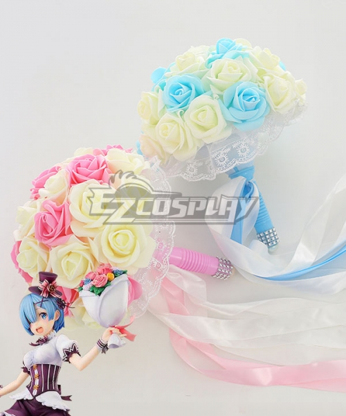 Re: Life In A Different World From Zero Rem Bouquet Cosplay Accessory Prop