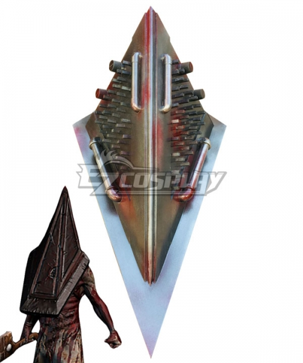 Silent Hill 2 Pyramid Head Red Pyramid Thing Head Cosplay