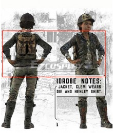 Telltale's The Walking Dead: The Final Season Clementine Cosplay Costume - Only Jacket