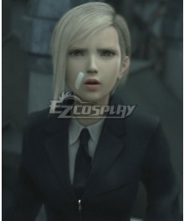 Final Fantasy VII: Advent Children FF7 Elena Golden Cosplay Wig