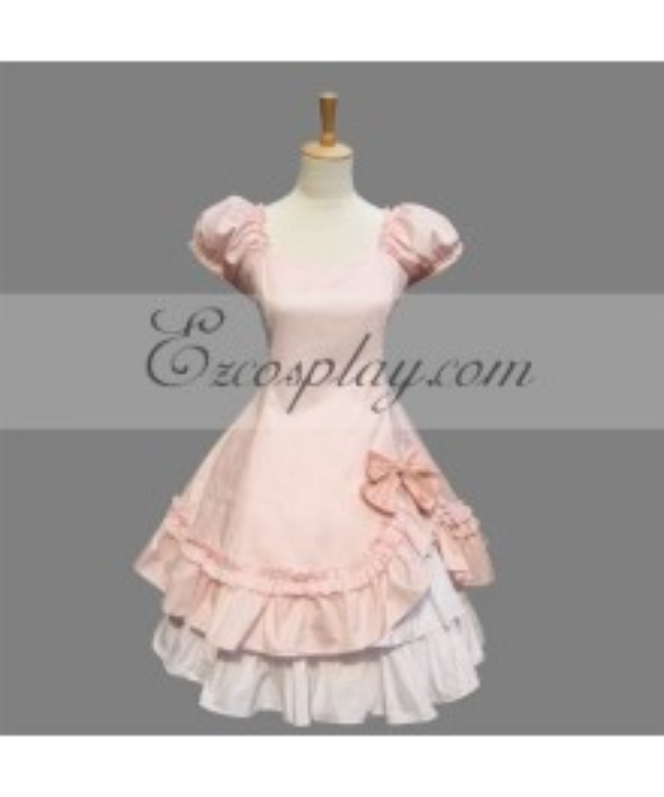 Pink Gothic Lolita Dress -LTFS0155