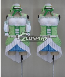 LOVE LIVE2 Love wing bell/Dancing stars on me! Hoshizora Rin  Green Cosplay Costume