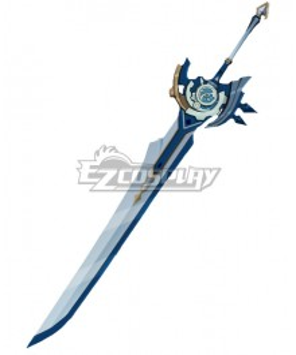 Genshin Impact Diluc Razor Noelle Chongyun Beidou Whiteblind Claymores Cosplay Weapon Prop
