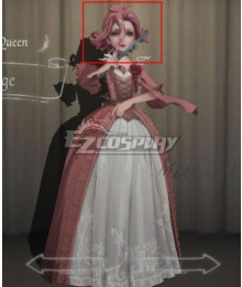 Identity V Bloody Queen Mary Rouge Pink Halloween Cosplay Wig