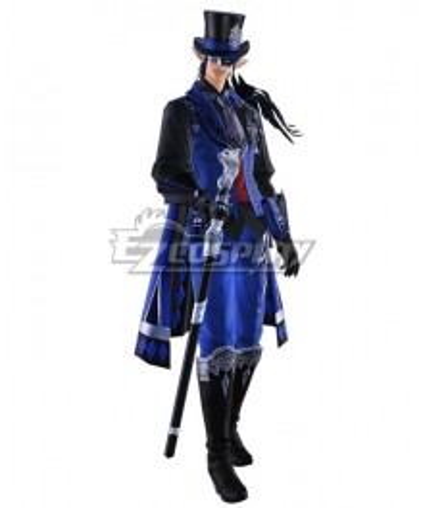 Final Fantasy XIV Update 5.4 Futures rewritten Male Cosplay Costume