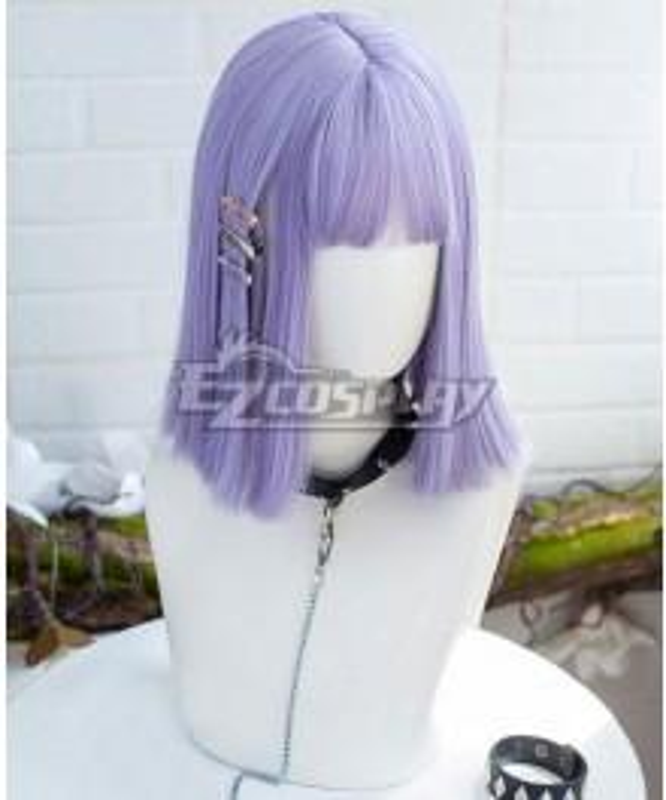 Japan Harajuku Lolita Series Five Kills Purple Cosplay Wig