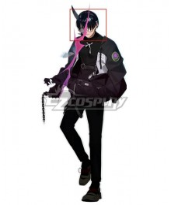 Caligula2 Kobata Kazamatsuri Black Cosplay Wig