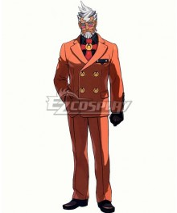 Ace Attorney Damon Gant Cosplay Costume