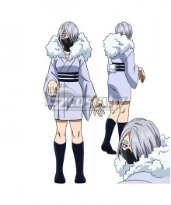 My Hero Academia Season 5 Reiko Yanagi Cosplay Costume