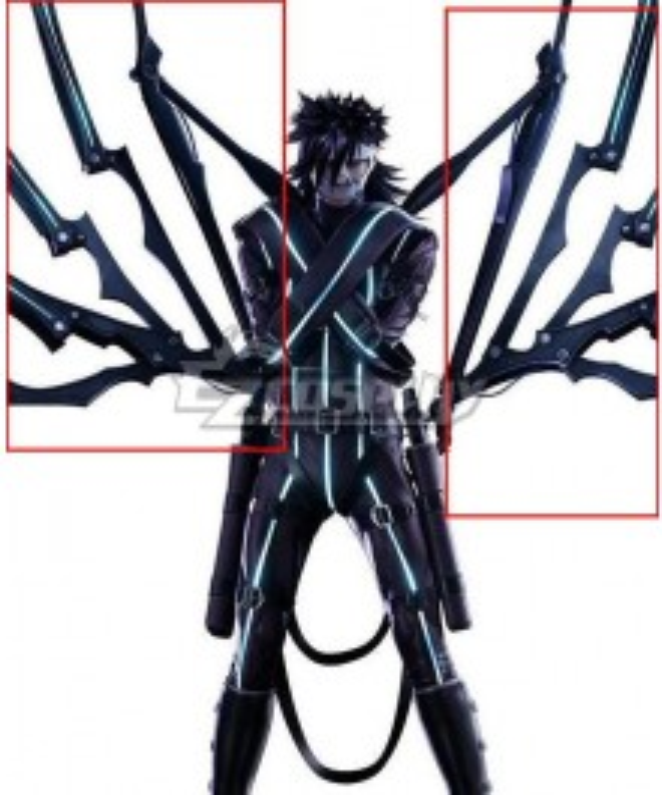 Final Fantasy VII Remake Intergrade FF7 Nero Cosplay Weapon Prop