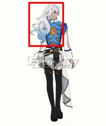 Visual Prison O.Z Eve Louise White Cosplay Wig