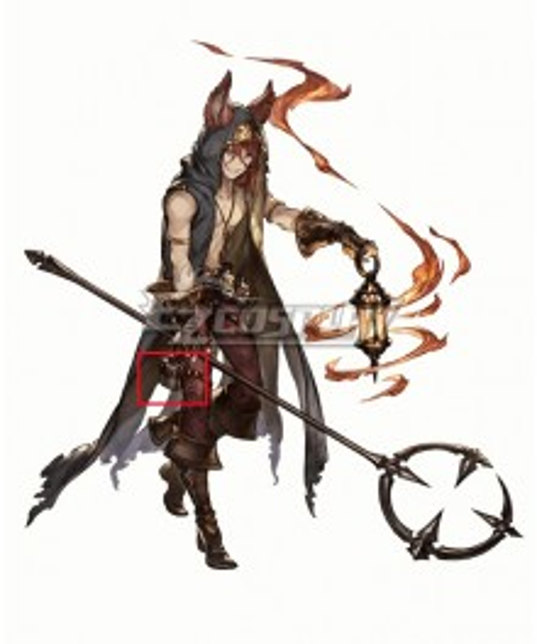 Granblue Fantasy Elmott Flagon Cosplay Accessory Prop