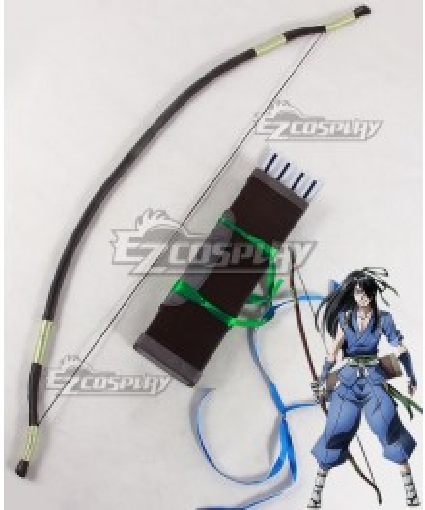Drifters Nasu No Yoichi Bow and arrow Quiver Cosplay Weapon Prop