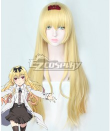 Arifureta: From Commonplace To World's Strongest Yue Golden Cosplay Wig