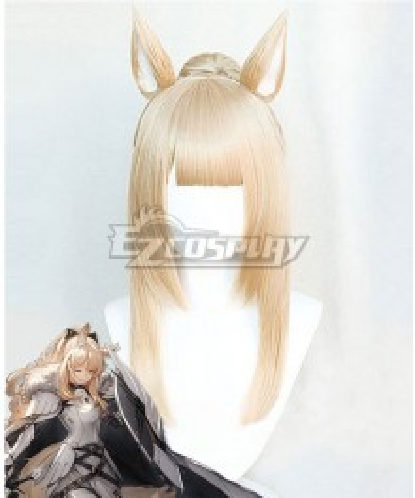 Arknights Blemishine Golden Cosplay Wig